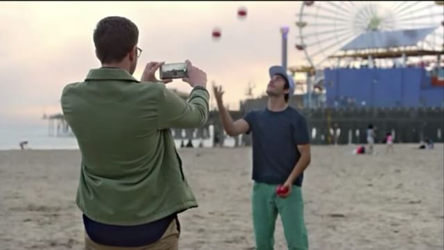 That one time I was a _waste of a five ball #juggler_ for a Samsung #Commercial