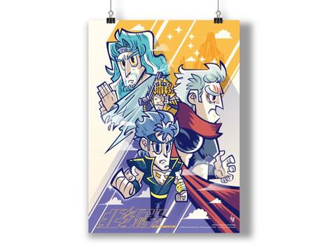 北斗の拳 コラボアートポスター