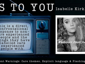 Us to You - Isabelle Kirkham's CEP Spoken Word