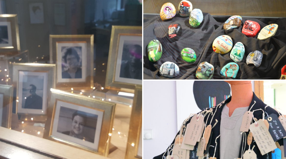 Let's not forget the #Protagonists and there were plenty of those at the conference. The university was alight with 🌟🌟🌟 Special artists: @10PYusuf  and his #coatofmanylabels @PoisonPinkDaisy  and her #orphanstones #TheAuthors  #CareExpConf