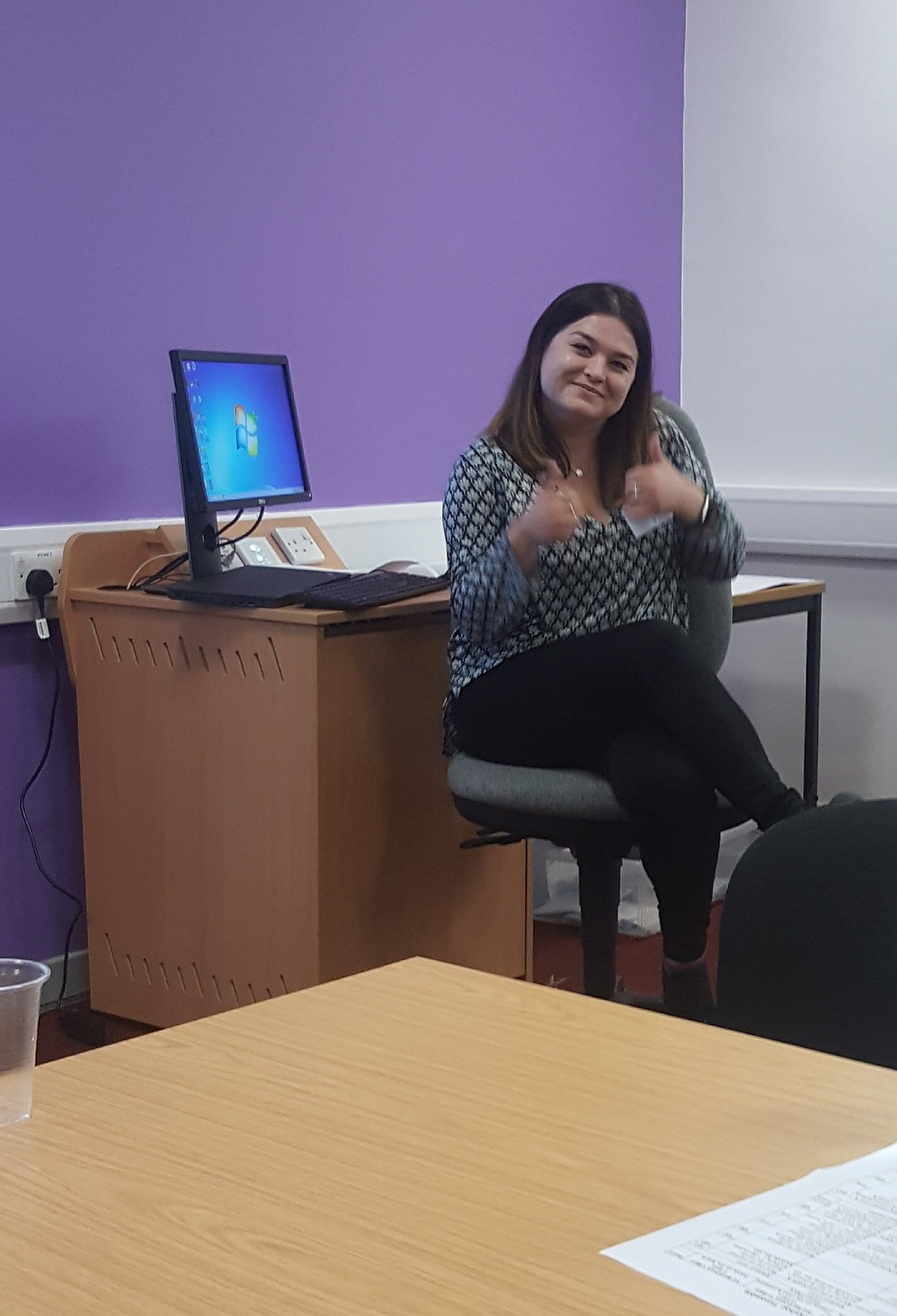 Or even an #acknowledgement! Dee chaired the workshop that myself and  @kirstycapes  presented 'Care Leaver Experiences of Higher Education PhD Programmes'. You can read about both presentations here via this #Hyperlink: https://careexperiencedconference.com/reports