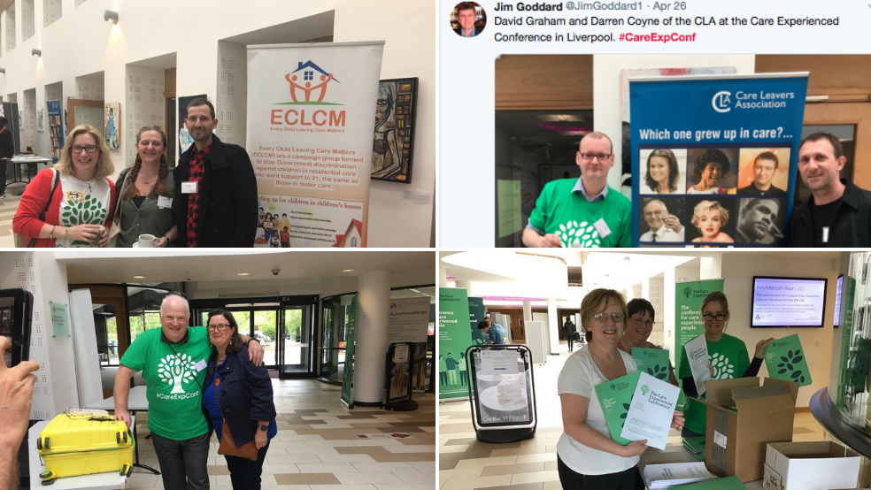 According to the #Timeline that also meant time to walk round the stalls and meet people who spend a huge amount of their time campaigning for care experienced people. Or collect goodies or a raffle ticket for prizes   @CareLeavers   @CLAN_AU   @ResCareTo21   @SueDickson812