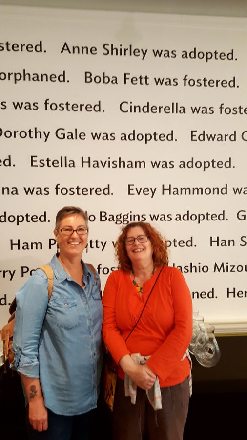 As with many stories there was of course a #backstory -  @DrDeeMichell and me(!) met at the Foundling Museum for a pre-conference chat where talked all things orphans and #CEP.