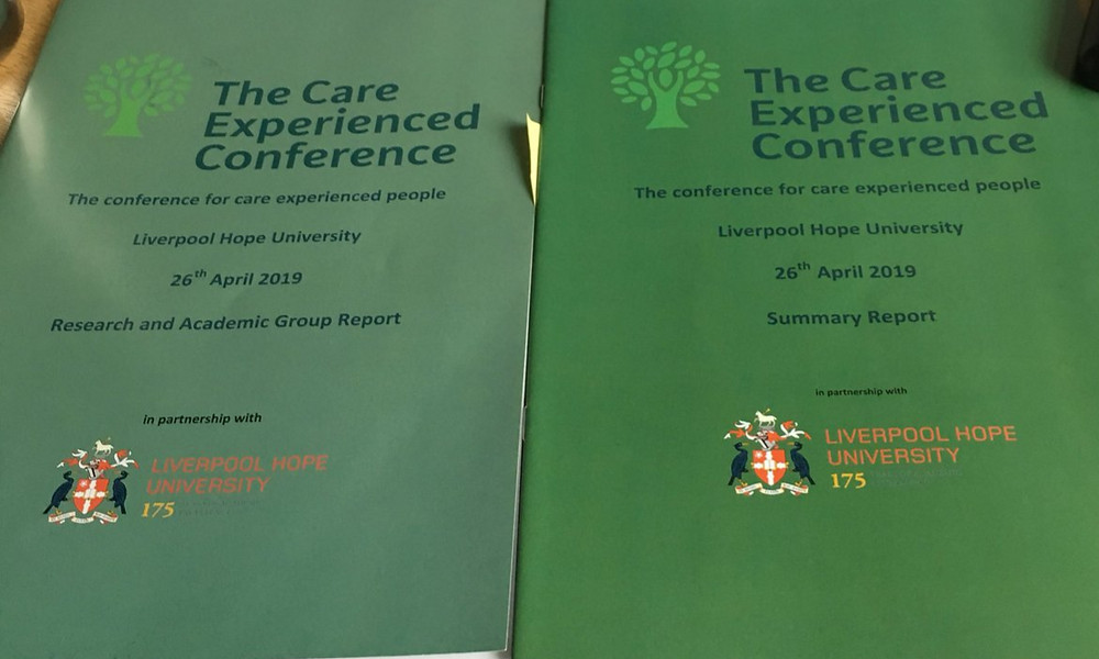 Delyth Edwards @delythsedwards: Look at these beauties #CareExpConf