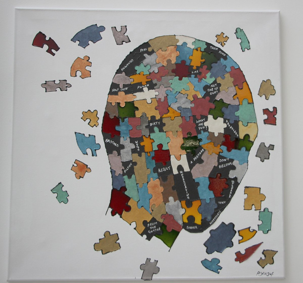 And here's a cheeky #insert and another picture reference from #artist Yusuf. The #puzzle is a well-used #metaphor but for #CEP it is extraordinarily fitting.