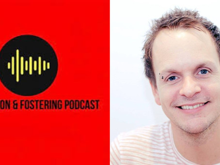 Jamie features on the Adoption & Fostering Podcast reflecting on the Care Experienced Conference