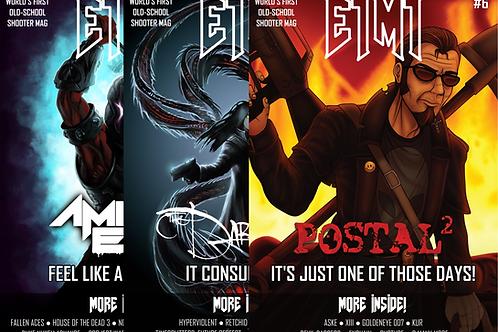 E1M1 Magazine - Issues #4-6 (Physical Bundle)