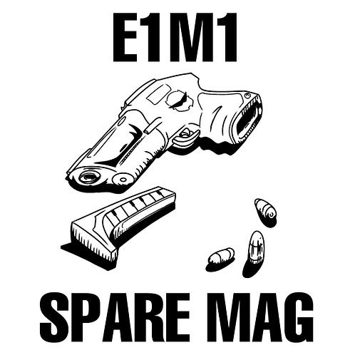 Spare Mag (Remixes) - E1M1 Magazine