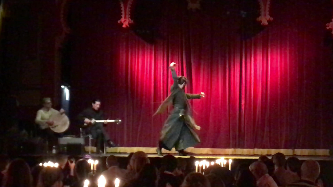 The dance performance: Artists and Movement