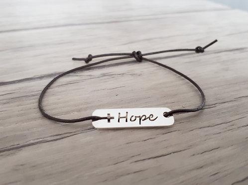 """Bracelet cuir """"Moody"""" Hope"""