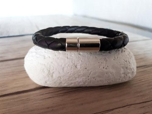 """Bracelet cuir homme """"Epsilon"""""""