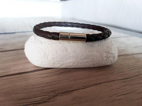 """Bracelet cuir homme """"Omega"""""""