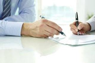 Signature du contrat de coaching