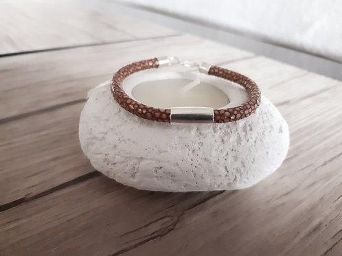 """Bracelet cuir """"Khambalia"""""""