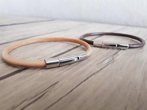 """Bracelet cuir homme """"Lambda"""""""