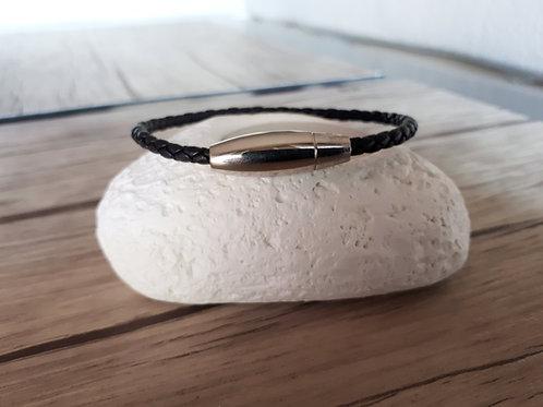 "Bracelet cuir homme ""Sigma"""