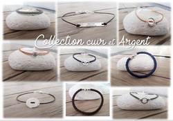 Collection Cuir & Argent 925