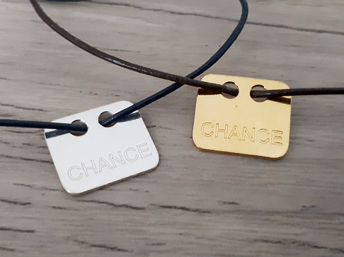 "Bracelet cuir ""Moody"" Chance"