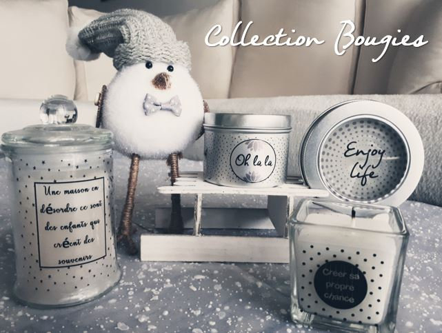 Collection Bougies