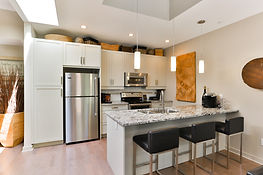 Kitchen Corfeild Creekside Parksville