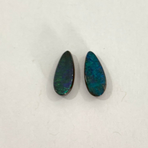 1.88 ct Boulder opal pair loose stone