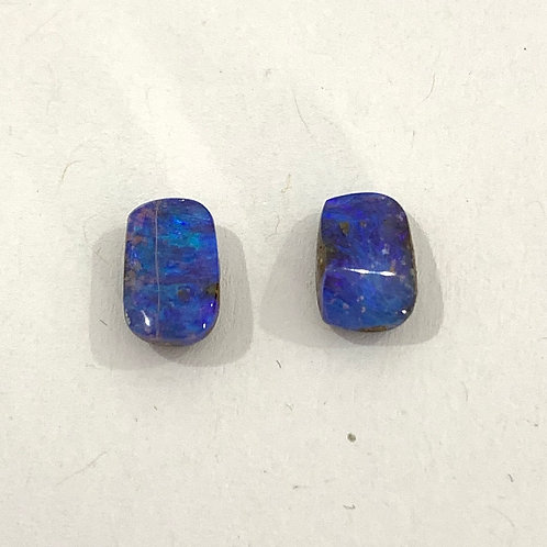 2.78 ct Boulder opal pair loose stone