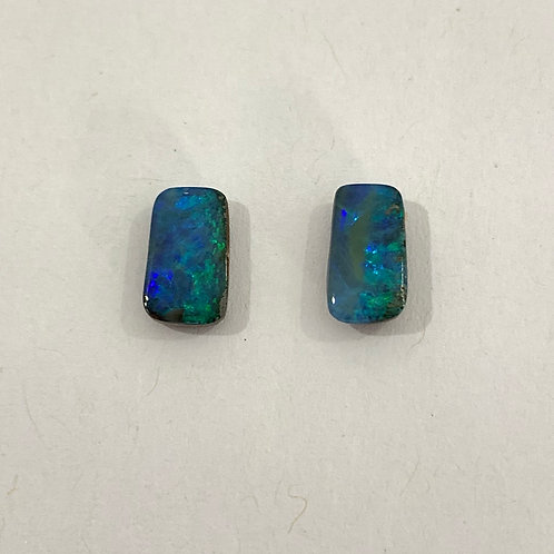 2.40 ct Boulder opal pair loose stone