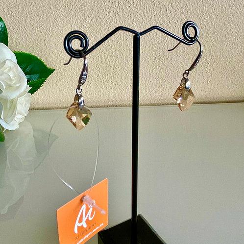 Swarovski crystal earrings in silver 925 setting
