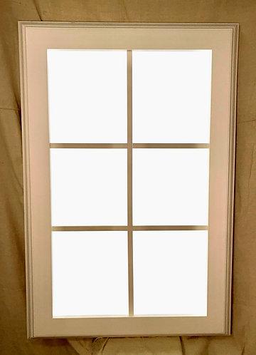 New Daylite Window 6 Pane Vertical Trimmed