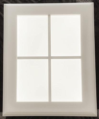 New Daylite Window 4 Pane Trimmed