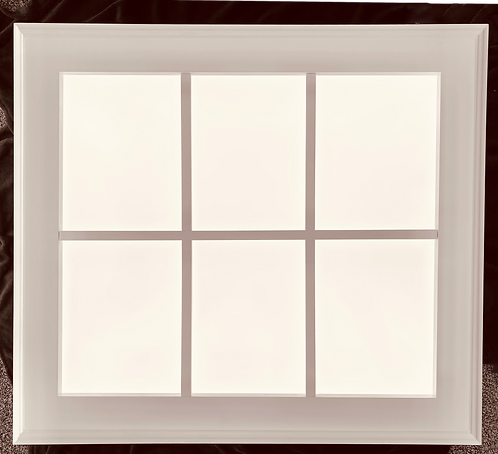 New Daylite Window 6 Pane Trimmed