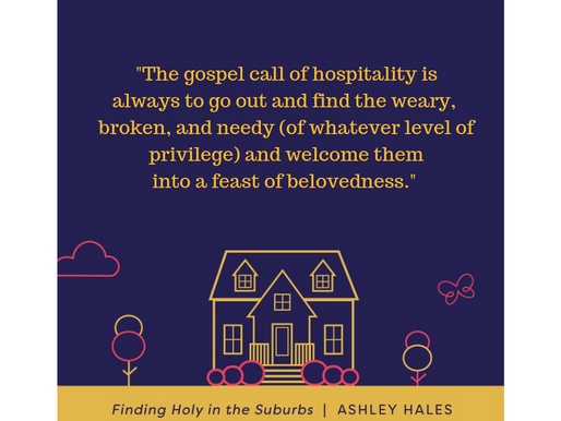 """Finding Holy In The Suburbs"" - review"