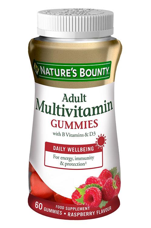 Nature's Bounty Adult Multivitamin Gummies 60