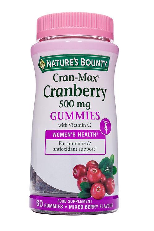 Cran-Max® Cranberry Gummies Mixed Berry 60