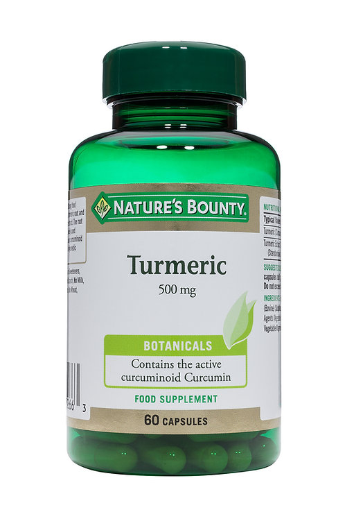 Nature's Bounty Turmeric 500 mg  60 Caps