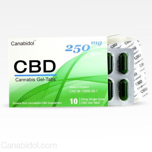 CANABIDOL™ CBD GEL-TABS™ - 250mg
