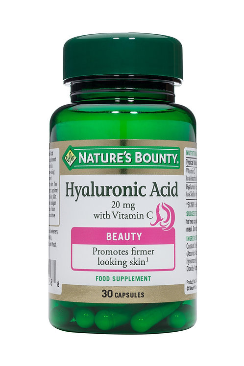 Hyaluronic Acid 20 mg with Vitamin C -30 capsules