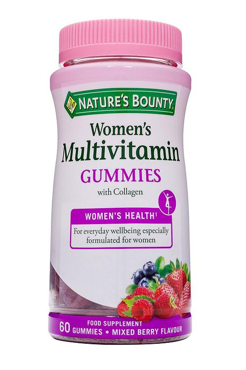 Women's Multivitamin Gummies Mixed Berry 60