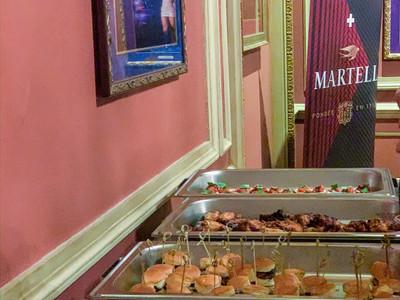 Corporate Dinner Buffet Set up