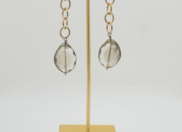 Swarovski Tear-Drop Crystal Earrings