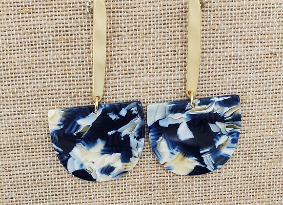 Ball & Chain in Navy