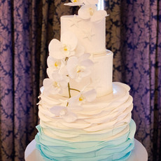 Sea Waves Cake