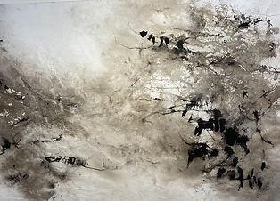 P.Giacobino Encre III  100 x 70 cm  2017