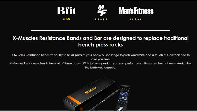 X Muscle Resistance Bands