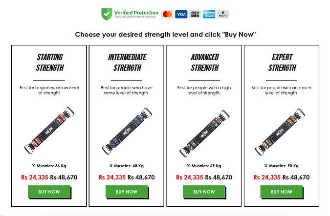 X Muscle Buy Now