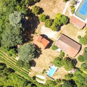 Aerial view Beaucour