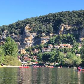 Kayaking on the Dorodgne
