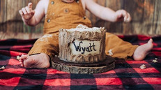 WYATT TURNS ONE!! We absolutely adore th