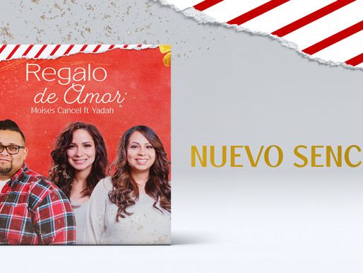 Moisés Cancel estrena nuevo sencillo de navidad «Regalo de amor»