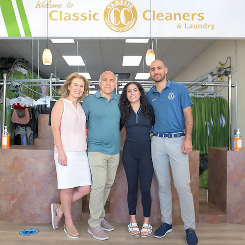 classic cleaners owners - the Homaizad family since 1985